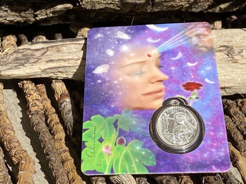 Carte & Médaille Sainte Rita Image