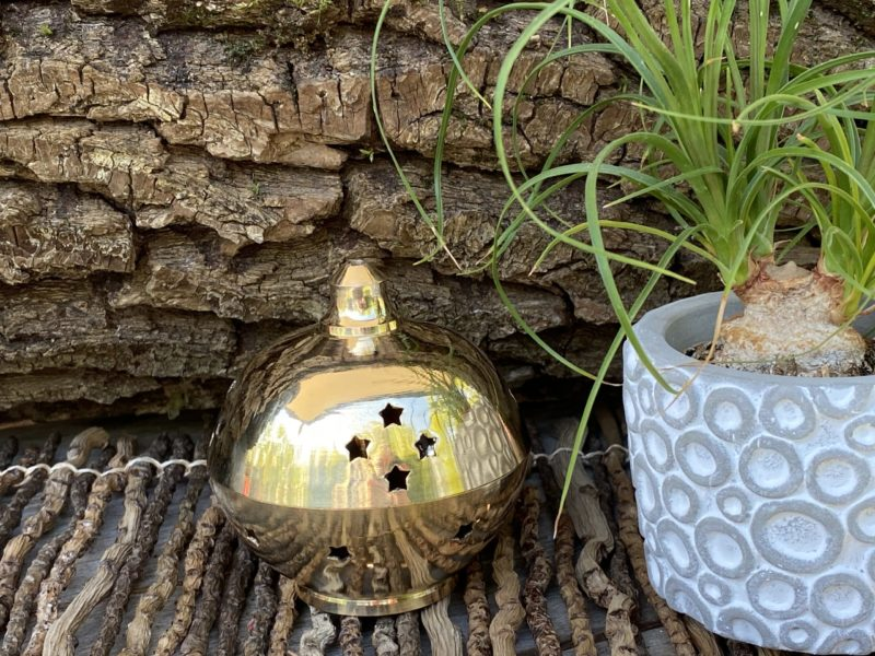 Brûle Encens en Laiton Image