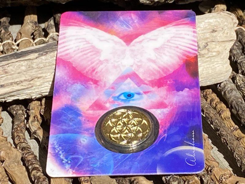 Carte & Médaille Archange Gabriel Image