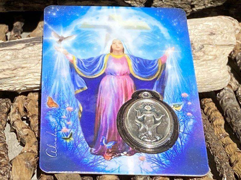 Carte & Médaille Sainte-Marie Image