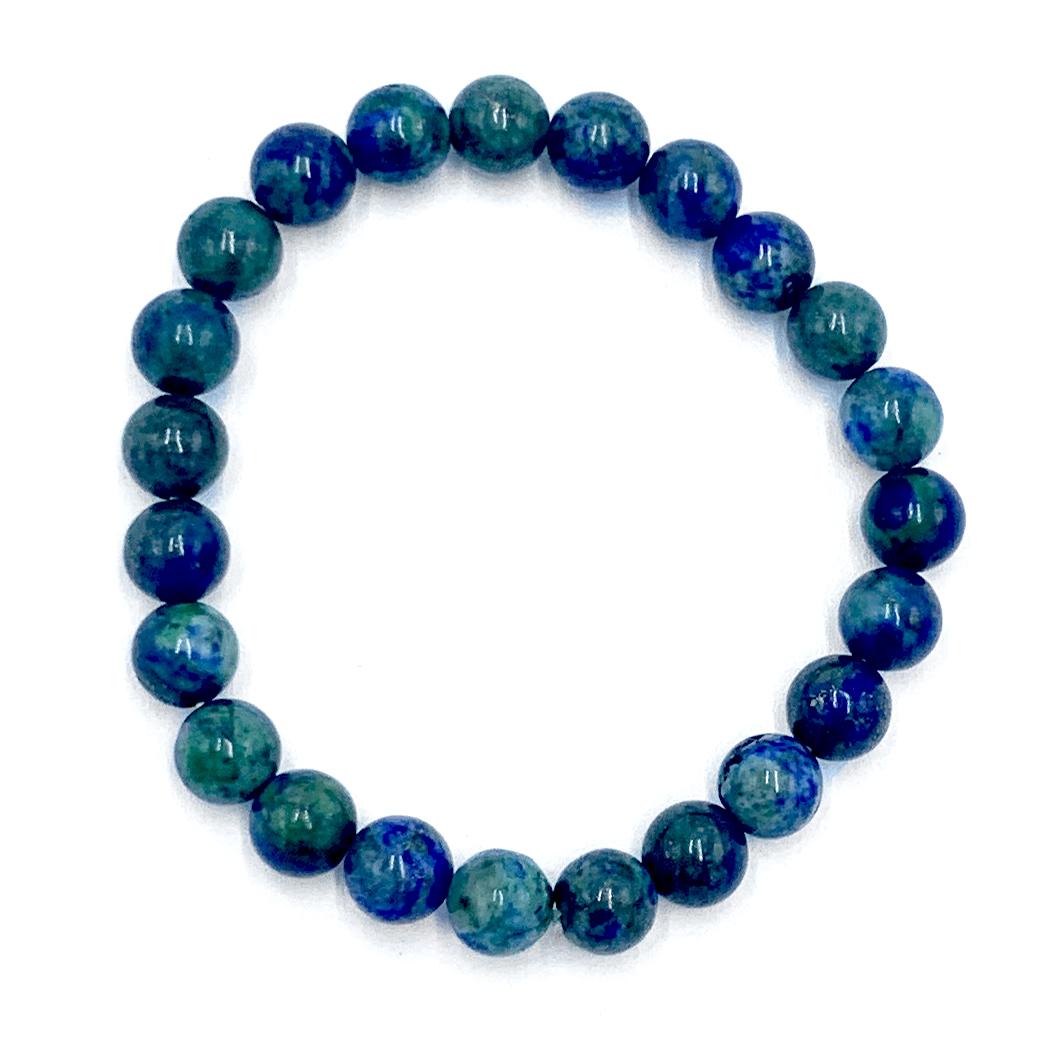 Bracelet Lapis Lazuli & Jade Image