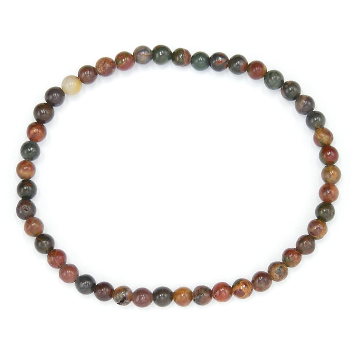 Bracelet Jaspe Multicolore - Fin Image