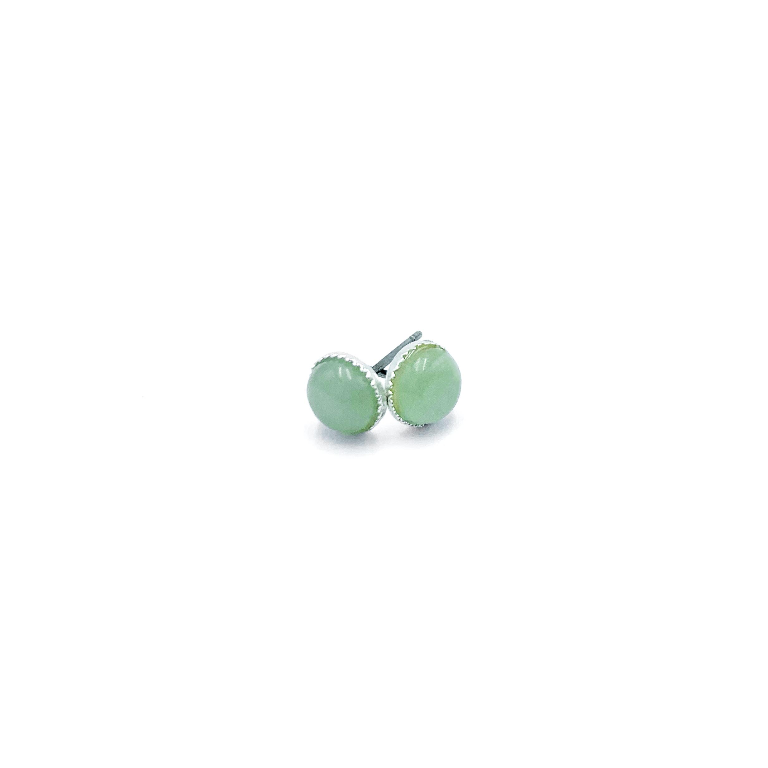 Boucles d'Oreilles - Aventurine Verte Image