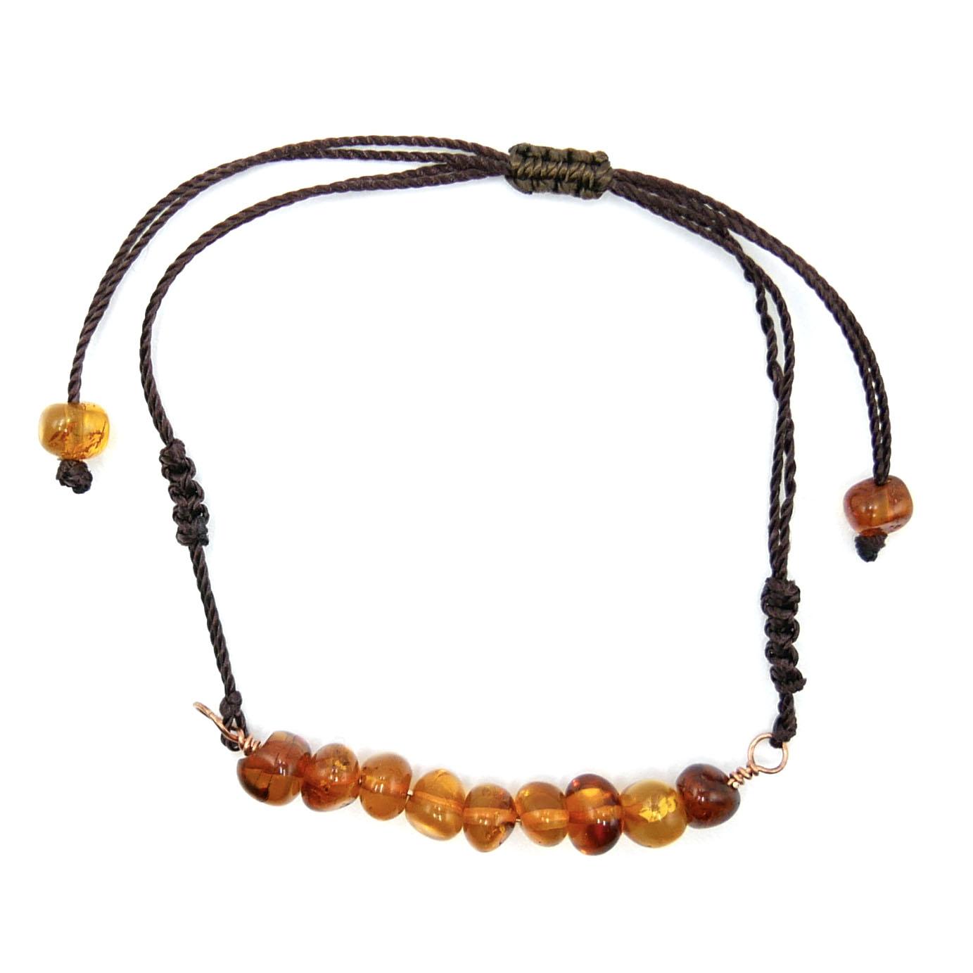 Bracelet Réglable Enfant - Ambre Image