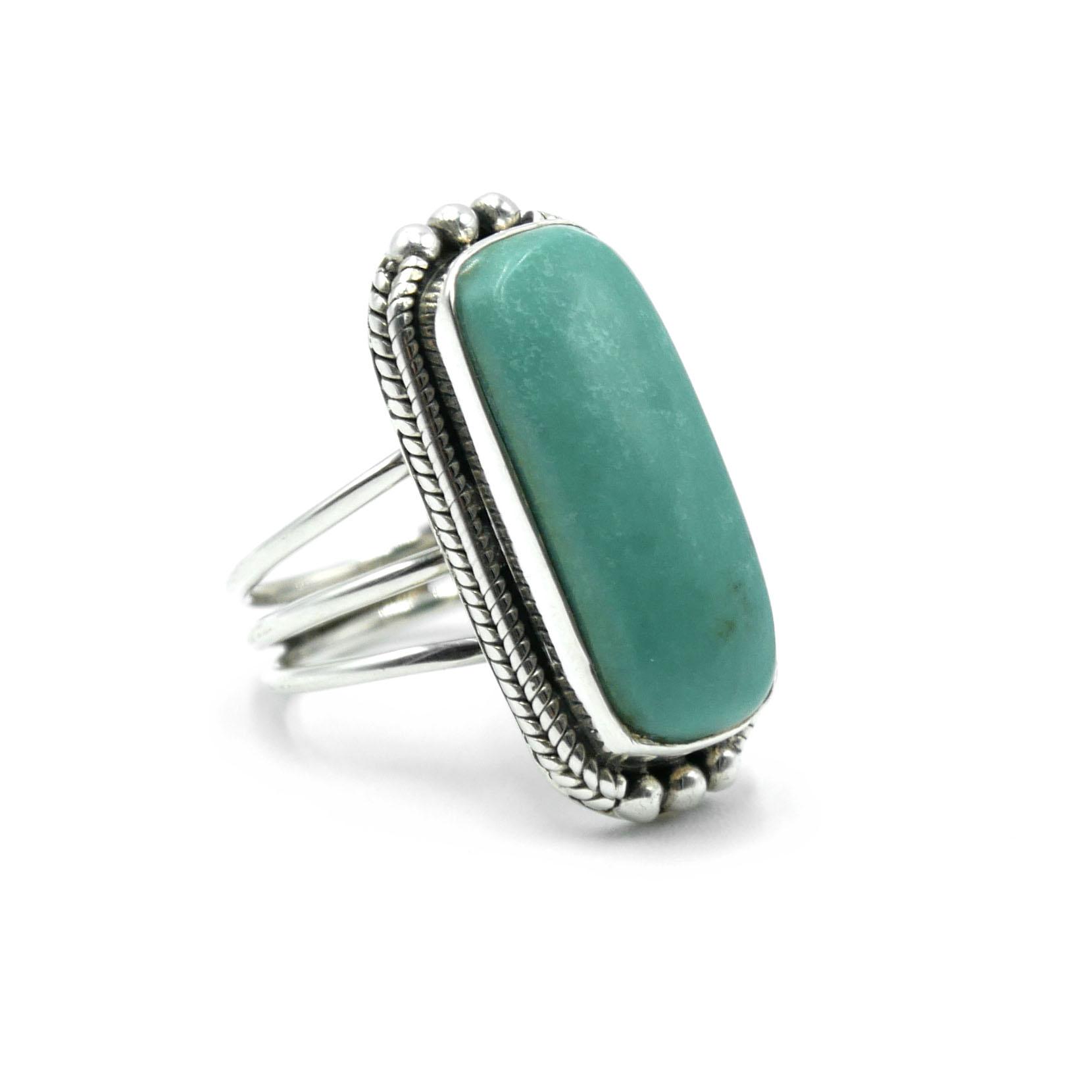 Bague en Argent - Turquoise Image
