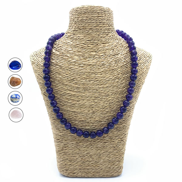 Collier Perles Rondes Image