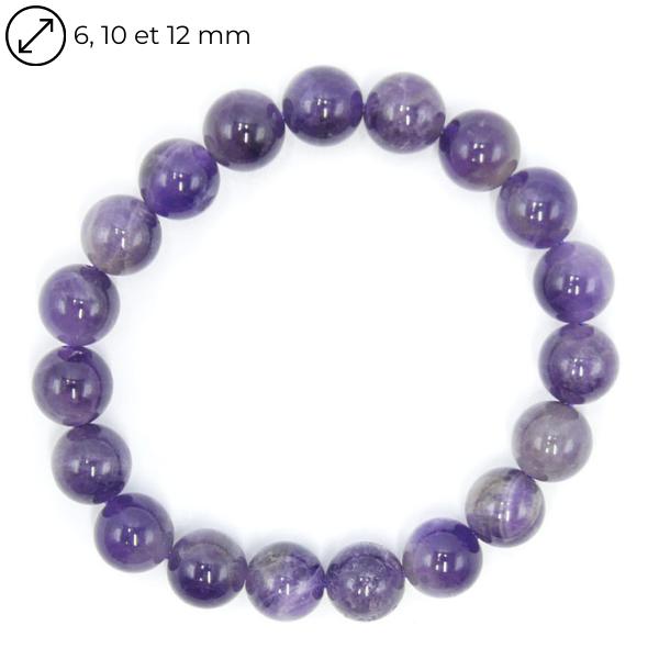 Bracelet Améthyste - Différentes Tailles Image
