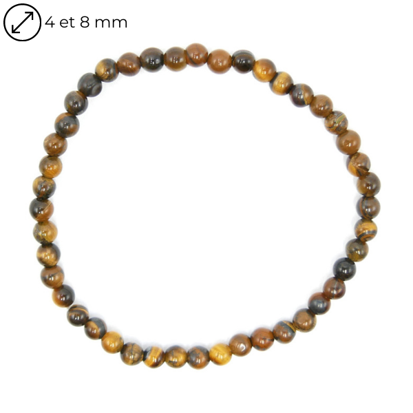 Bracelet Œil de Tigre - Différentes Tailles Image
