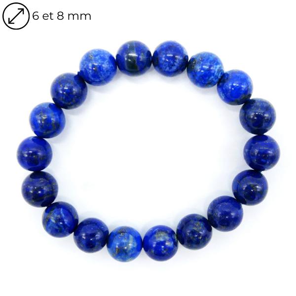 Bracelet Lapis Lazuli - Différentes Tailles Image