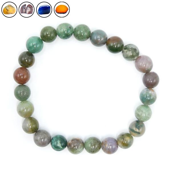 Bracelet Agate - Différentes Couleurs Image