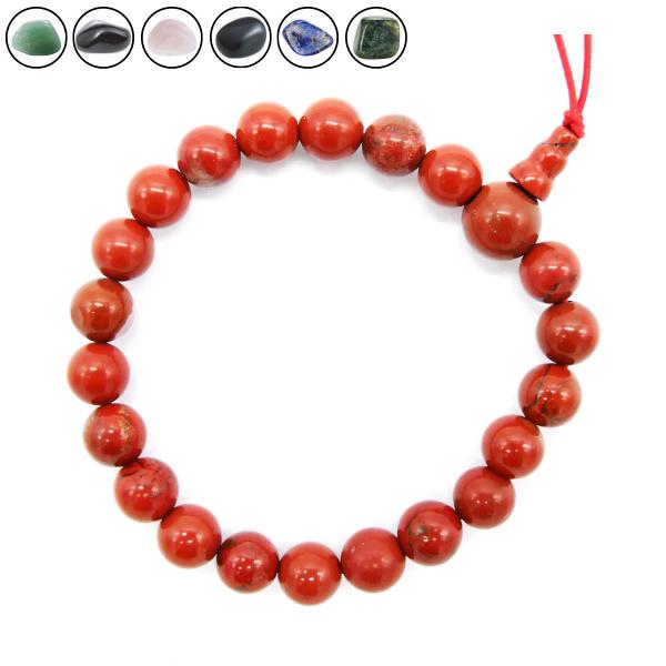 Bracelet Mala Tibétain - Différentes Pierres Image