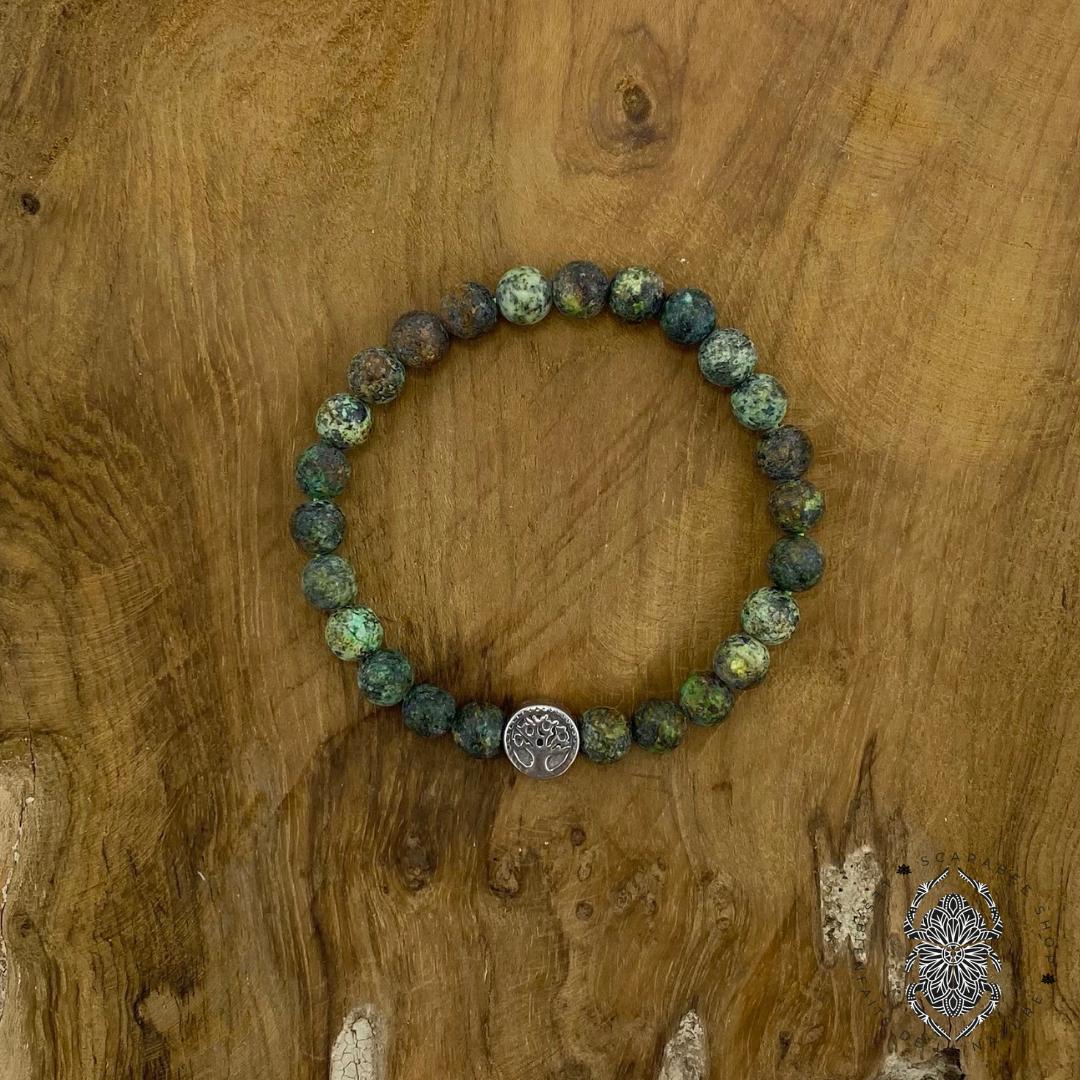 Bracelet en Turquoise africaine Image