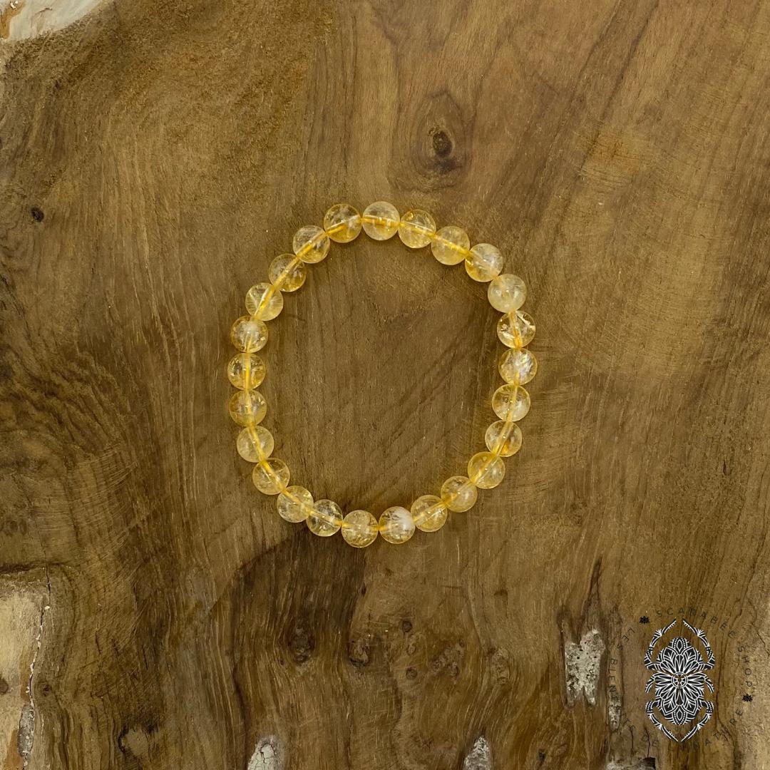 Bracelet en Citrine 8mm Image