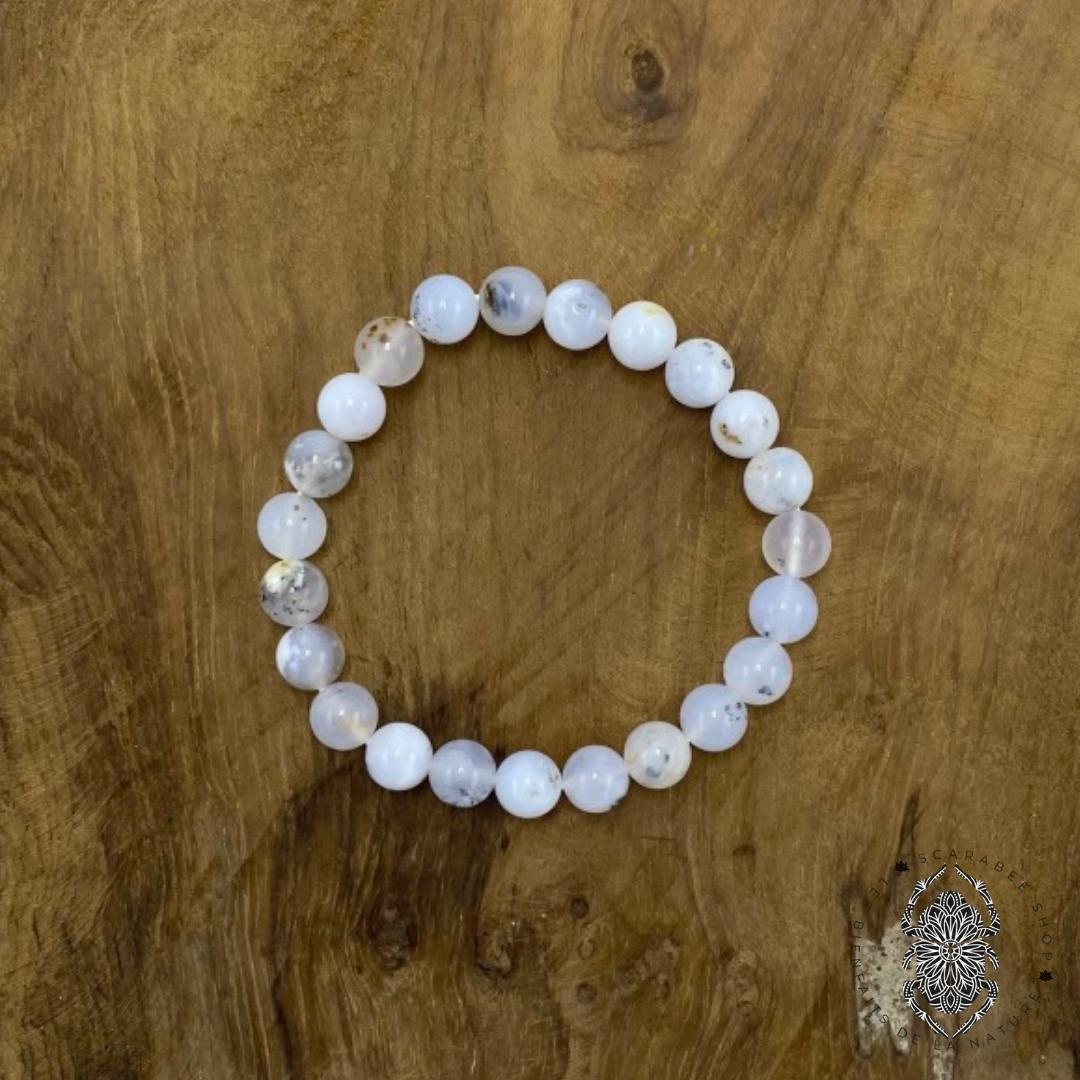 Bracelet en Opale Blanche Image