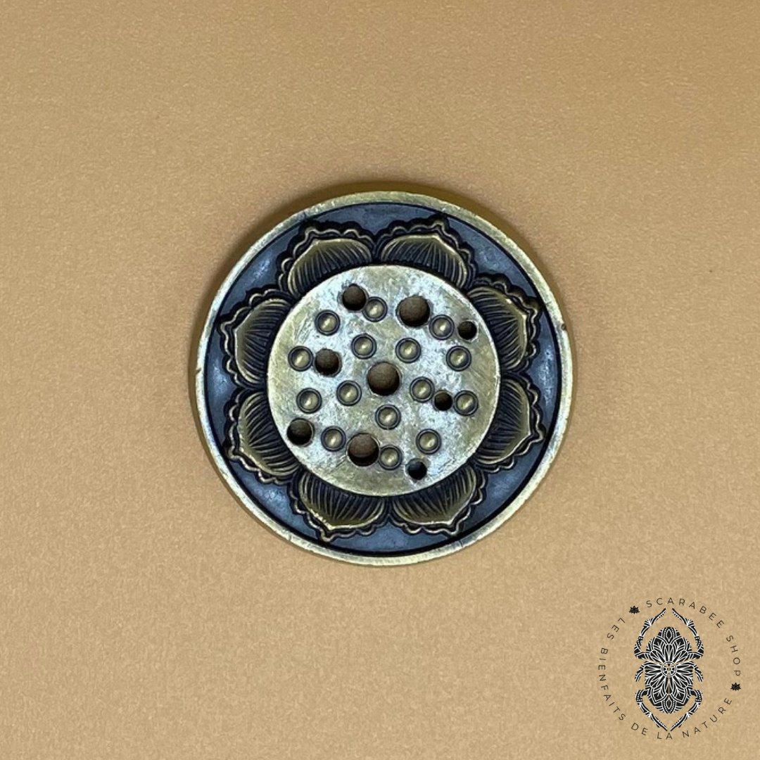 Porte Encens - fleur de lotus 3 Image